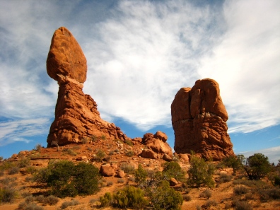 Balanced Rock at Arches National Park
