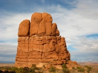 Five Finger Rock at Arches National Park