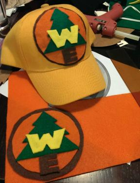 diy russell wilderness explorer cap