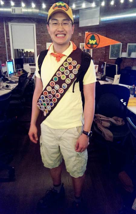 diy russell wilderness explorer halloween costume