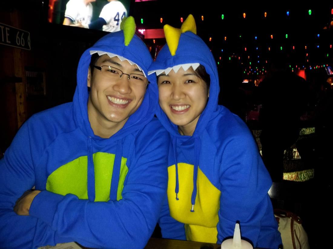 diy dinosaurs hoodie costume